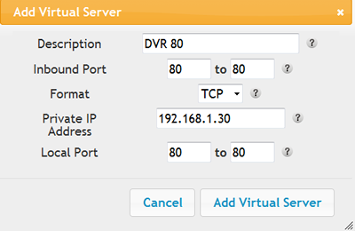 how to scan for open ports on an ip address