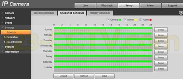 schedule-general